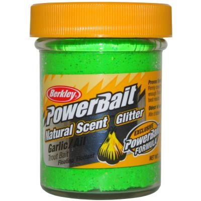 Berkley Powerbait Dough Natural Scent Garlic Spring Green