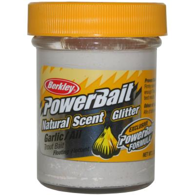 Berkley Powerbait Dough Natural Scent Garlic White