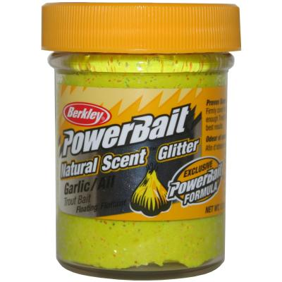 Berkley Powerbait Dough Natural Scent Sunshine Yellow