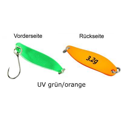 FTM Spoon Hammer 3,2g green / orange