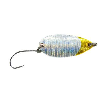 Paladin Trout Spoon Wave 4,5g silver yellow / copper