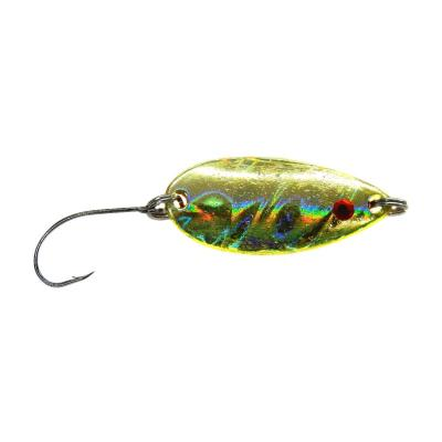 Paladin Trout Spoon Wave 4,5g gold yellow / copper