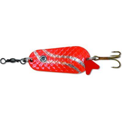Zebco blinker 45g 12cm cuillère classique rouge / argent