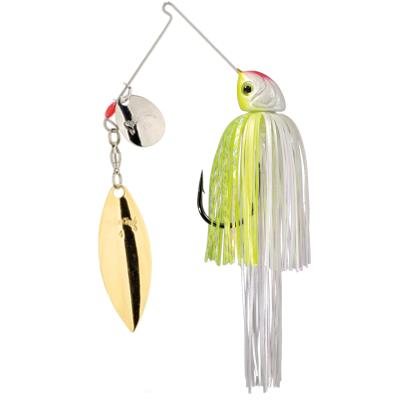 Strike King Hack Attack Heavy Cover Spinnerbait Chartreuse / Blanc 21.3G