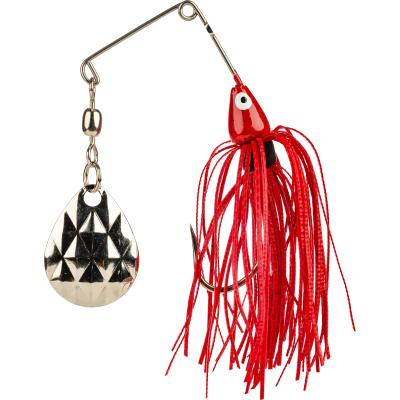 Strike King Mini-King Spinnerbait Red Shad Head Red Shad Jupe 3.5G