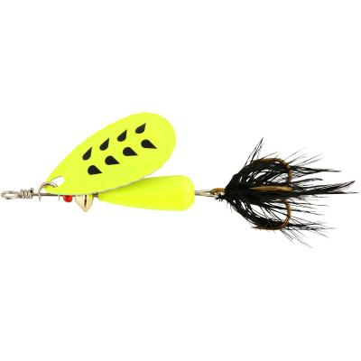 Abu Garcia Droppen Fluo Chart 8G - Chart Black Feather