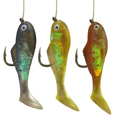 JENZI Persch-Hegene Fishli's with rubber fish # 6 type 1