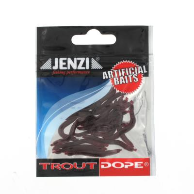 JENZI Trout Dope Artificial worms, sinking Number 20 pcs / SB J