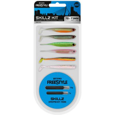 SPRO FS Skillz DS Kit 70-73mm mix pack