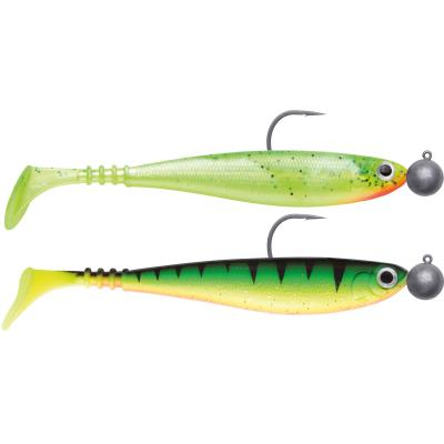 Jackson Zanderbait 12cm Rigged 14g Mix-Pack trüb