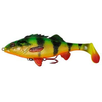 Savage Gear 4D Perch Shad 12.5cm 25g SS 02-FT