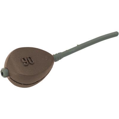Pelzer Inline FLAT - avec insert en caoutchouc marron 71g