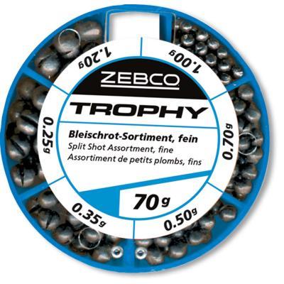 Zebco lead shot assortment 70g fine