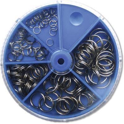 Assortiment d'anneaux fendus Zebco 100 pièces
