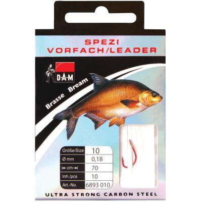DAM TARGET FISH HOOK SPECI BRASSE Gr. 12th
