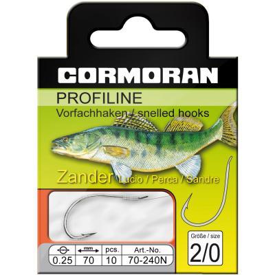 Cormoran PROFILINE pikeperch hook nickel size 1/0 0,25mm
