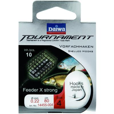 DAIWA TOURNAMENT Feederhaken Gr. 10