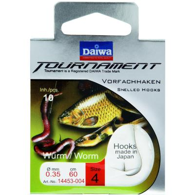 DAIWA TOURNAMENT Wurmhaken Gr. 4