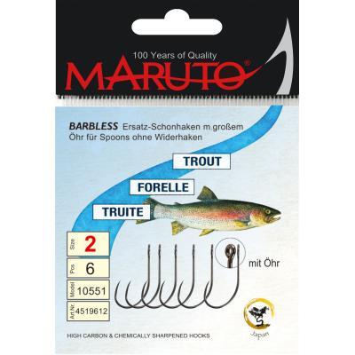 Maruto Maruto Crochet simple avec grand oeil taille 6 pour cuillères SB6