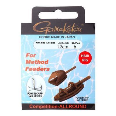Gamakatsu Bkd-Method Feeder Cheveux 12Cm # 8