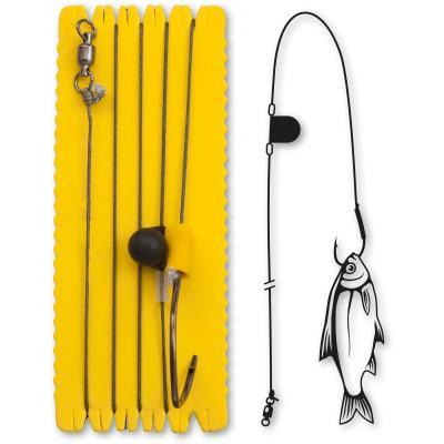 Black Cat 8/0 Single Hook Rig with Rattle XL 100kg 1 piece 1,20m