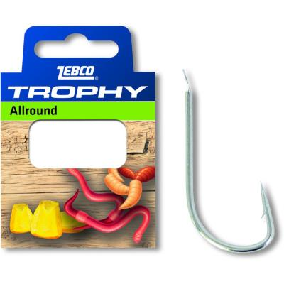 Zebco # 14 Trophy Allround leader hook 0,16mm 0,70m 10 pieces