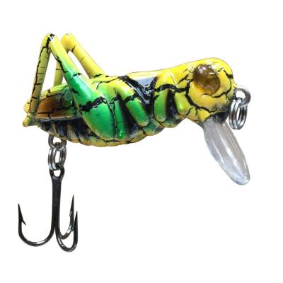 JENZI Insekten Wobbler 'G-Hope' Yellow/green