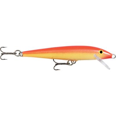 Rapala Floating 13cm Gold Fuorescent Red 1,20-1,80m