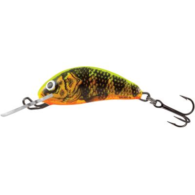 Salmo Hornet Floating 3.5cm 2,2G Gold Fluo Perch 0,5/1,0m