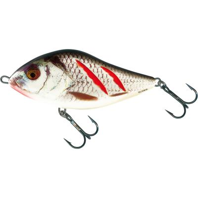 Salmo Slider Sinking 12cm 70G Wounded Real Grey Shiner 2,0/1,0m