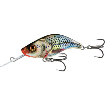 Salmo Sparky Shad Sinking 4cm 3G Silver Holographic 1,0/1,5m