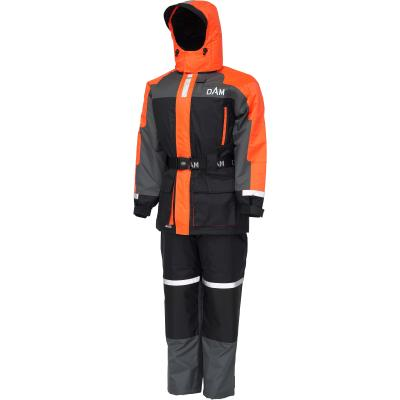 DAM Outbreak Floatation Suit 2Pcs Fluo Orange/Black xxxl