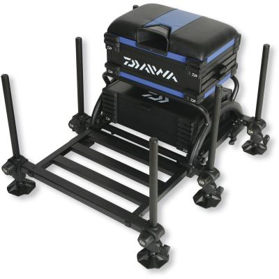 Daiwa Tournament Seat Box 500 Modell 15811-501 schwarz/blau