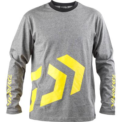 Daiwa D-Vec T-Shirt LS grey/yellow M