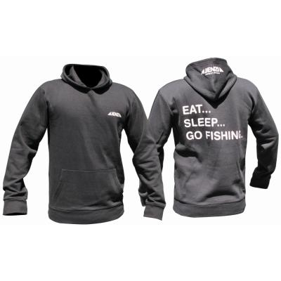 JENZI Eat-Sleep-Go Fishing Sweat-shirt Gr. L