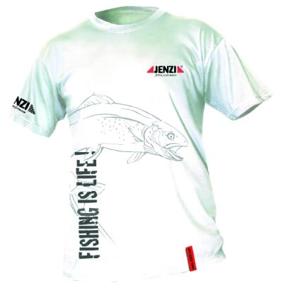 JENZI Fishing is life T-Shirt Gr.M