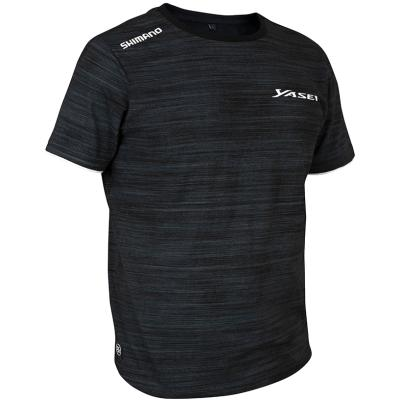 Shimano Yasei T-Shirt L Grey/Black