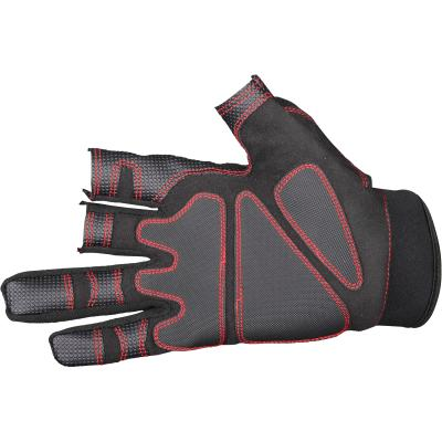Gamakatsu Armor Gloves 3 Fing-Cut Xl