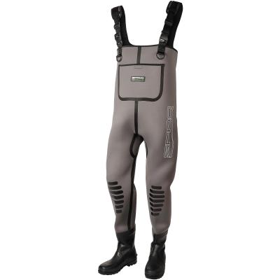 SPRO 5mm Neoprene Chest Wader Rubber Boots 45