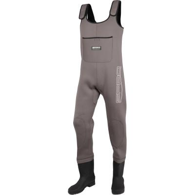 SPRO 4mm Neoprene Chest Wader PVC Boots 45