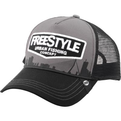 Spro Freestyle Trucker Cap Gray Front
