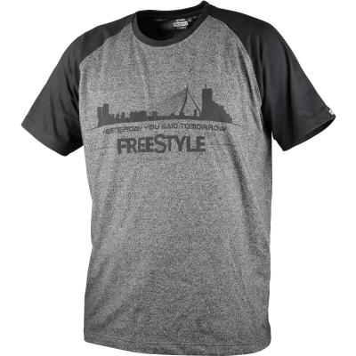 Spro Freestyle T-Shirts Gray X Bk Size M