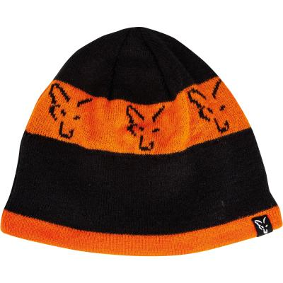 FOX black / orange beanie