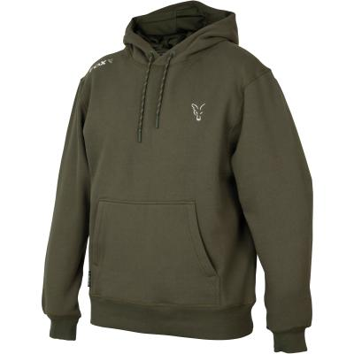 Fox collection Green Silver hoodie - L