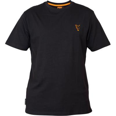 Fox collection Black Orange T-shirt - S