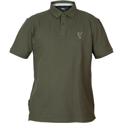 Fox collection Green Silver polo shirt - M
