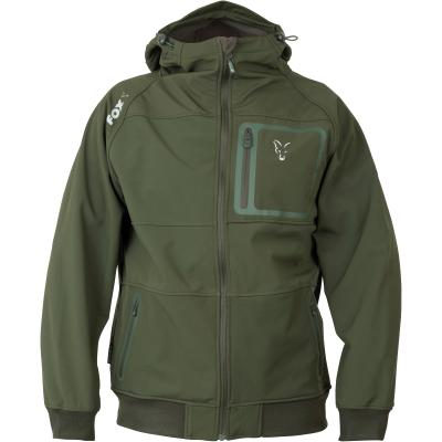 Fox collection Green Silver Shell hoodie - XXL