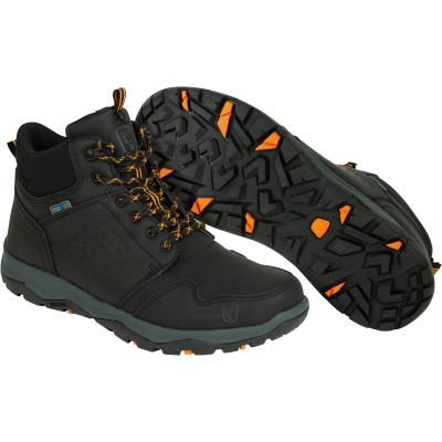 Fox Collection black orange mid boot 9 43