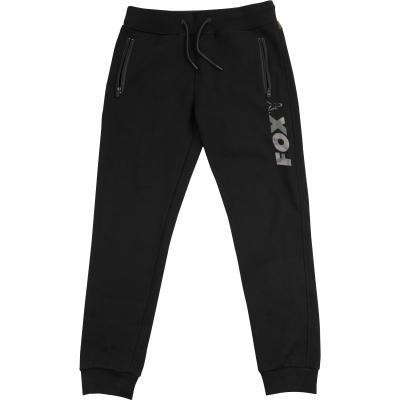 Pantalon de jogging noir / camouflage Fox - L