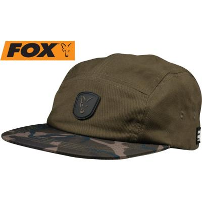 Fox khaki / camo volley cap